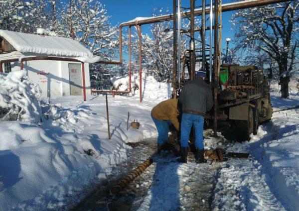 Распределительный газопровод низкого давления, ПРГ в х. Подольский Апшеронского района