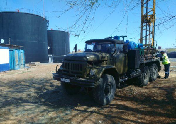 Терминал ООО «ГПН – БТ Юг» для монтажа установки по производству битума, г. Сальск